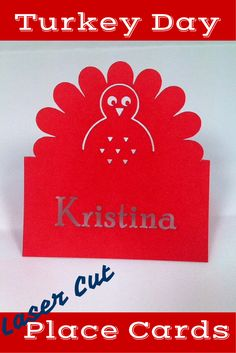 Laser Cut Place Cards | Free Template | #Trotec #Laser