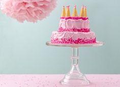 Dreamy Pink Castle Cake recipe from Betty Crocker