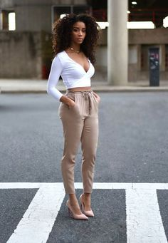 d0e09fc7695b Gorgeous 40 Awesome Casual Work Outfit for Black Women http   99outfit.com.  Open. More information