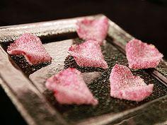 Pétales de rose cristallisés - 7