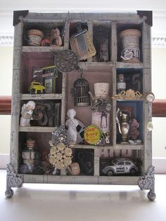 configurations box - lucky enough to be made in a class with Mr Tim Holtz himself