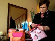 Mary Kay selling tips on the go demo tote - YouTube