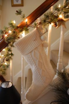 Love this stocking...by julie brewster