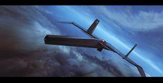 Bomber by Alex Thomas on ArtStation.