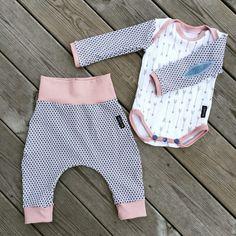 Baby onepiece matchning set