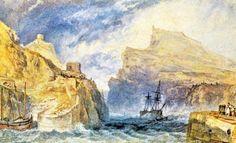 Boscastle, Cornwall (ca. 1824) Joseph Mallord William Turner