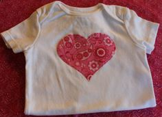 Valentine's Onesie for Baby and Toddler Pink by gentryscloset, $10.00