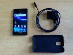 Samsung Infuse 4G SGH-I997 - Caviar Black ~ AT&T or STRAIGHT TALK ~ clean IEMI #