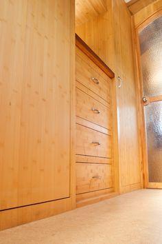 Airstream closets and dresser
