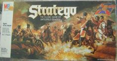 Stratego - The Classic Game of Battlefield Strategy 1986 Edition by Milton Bradley MB ,Vintage - Rare & Unusual, http://www.amazon.com/dp/B0028LEM26/ref=cm_sw_r_pi_dp_FkB3rb1ZDCPE6