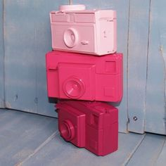 Update Old Cameras With Paint for Fresh Room Decor