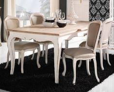 Oferta silla tapizada blanca antigua Cantoblanco