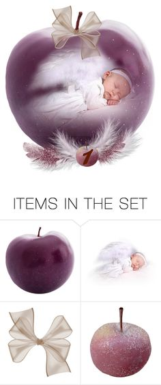 """""""An Apple a Day December 1st"""" by ragnh-mjos ❤ liked on Polyvore featuring art, apple, artset, december and advent"""
