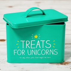 Posoda za shranjevanje - Treats for unicorns