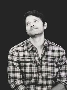 Misha Collins Just look at that adorable face!!