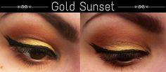 Mary Bloomy: Gold Sunset | Subtle Way To Use Yellow Eyeshadow |