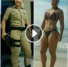 Womens Style Discover Chest day For see more of fitness motivation images visit us on our website ! Femmes Les Plus Sexy, Military Girl, Female Soldier, Military Women, Girls Uniforms, Badass Women, Fit Women, Cool Outfits, Women Hunting