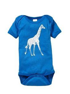 giraffe print in electric blue