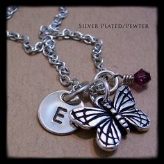 Personalized Necklace  Hand Stamped Jewelry  by MadisonCraftStudio, $24.00