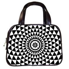 Points STRanger Handbag Wearable Art Leather by SheriSTRanger, $59.99