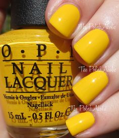 Opi: Good Grief! Halloween 2014 Peanuts Collection