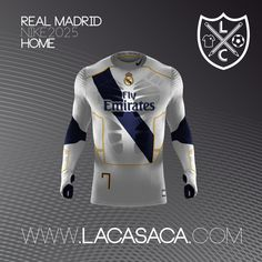 Nike 2025 Fantasy Kits - Real Madrid Home