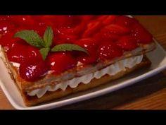 Como Hacer Tarta de Fresas Fácil (con Hojaldre)