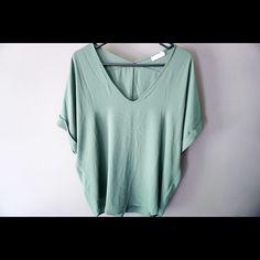 Selling this Lush Cuffed Sleeve Woven Top in my Poshmark closet! My username is: heylaurenem. #shopmycloset #poshmark #fashion #shopping #style #forsale #Lush #Tops