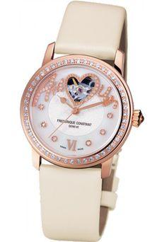 'Ladies Automatic', Frédérique Constant - Luxus Uhren Herbst Winter 2012 - gofeminin