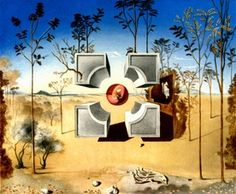 "Project for ""As you like it"" 1948 Salvador Dalí"