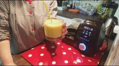 Drip Coffee Maker, Make It Yourself, Cooking, Youtube, Recipes, Health Desserts, Beverages, Slushies, Orange Sorbet