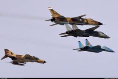 "russian-air-force: ""SU24 and MiG29 and F-4 and F-14"""