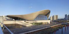 Zaha Hadid 1950-2016 London Aquatic Center