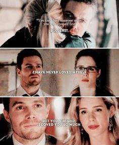 Arrow - Oliver & Felicity #Olicity <3<3<3