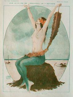 Georges Léonnec (1881 – 1940). La Vie Parisienne. [Pinned 20-i-2015]