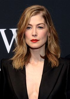 Rosamund Pike attends the IWC gala event 'For the Love of Cinema' during the Tribeca Film Festival on April 20, 2017 in New York City