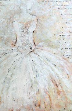 Kim Normandin  La mariée Painting, Inspiration, Biblical Inspiration, Painting Art, Paintings, Painted Canvas, Inspirational, Drawings, Inhalation