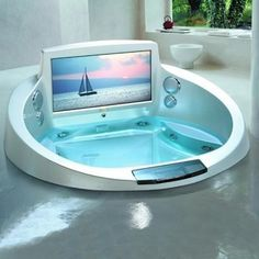 Tv spa in the future with http://www.likeableonline.com/  #futuretech #tech #futurism