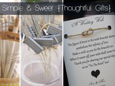 The Ultimate Guide to Wedding Favours & Favour Ideas Wedding Favours, Wedding Gifts, Wedding Ideas, Love Story Wedding, Make A Wish, How To Make, Wish Bracelets, Wedding Wishes, Simple Weddings