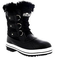 Womens Snow Boot Nylon Short Fur Rain Winter Waterproof Snow Warm Boots - Black - 5 - 36 - CD0030 Polar http://www.amazon.com/dp/B00MDKU4ME/ref=cm_sw_r_pi_dp_DDtPwb1G82BE4