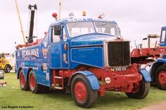 Scammell Constructor. R.T.Williams. An ex Heavy Haulage tractor.