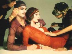 ▶ JUN ROPE' CM / Richard Avedon・Anjelica Huston (1973) 60 second - YouTube