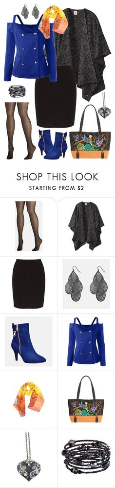 """""""Geen titel #663"""" by miriam-witte ❤ liked on Polyvore featuring Avenue, Dale of Norway, Zhenzi, NOVICA, Garavelli and 1928"""