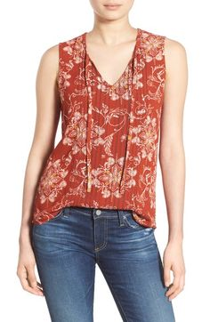 Hinge Sleeveless Top available at #Nordstrom