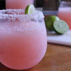 This easy pink lemonade margarita is perfect and refreshing to sip in the summertime!