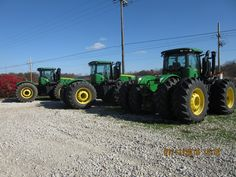 3-460hp John Deere 9460Rs