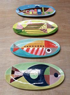 Fish plates, Ysabella Choung