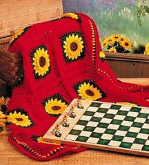 Sunflower Afghan ~ free pattern