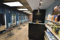 Reis design created the salon concept & branding for Bauhaus Hair in Cardiff. Visit City Lighting Products! https://www.linkedin.com/company/city-lighting-products