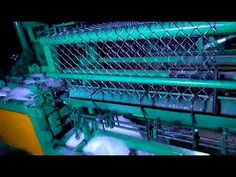 HIGH speed double wire feeding chain link fence machine150-200sqm/h Chain Link Fence, Machine Video, High Speed, Wire, Wire Fence, Chicken Wire, Cable